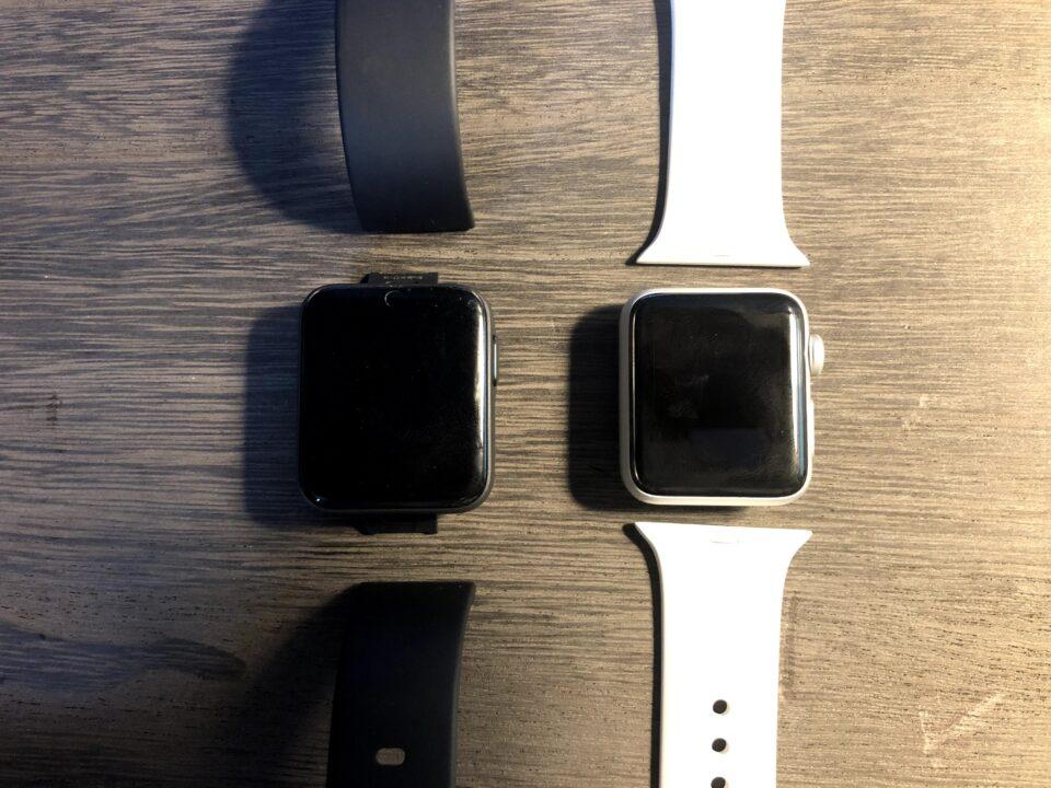 mi watch lite apple watch series3