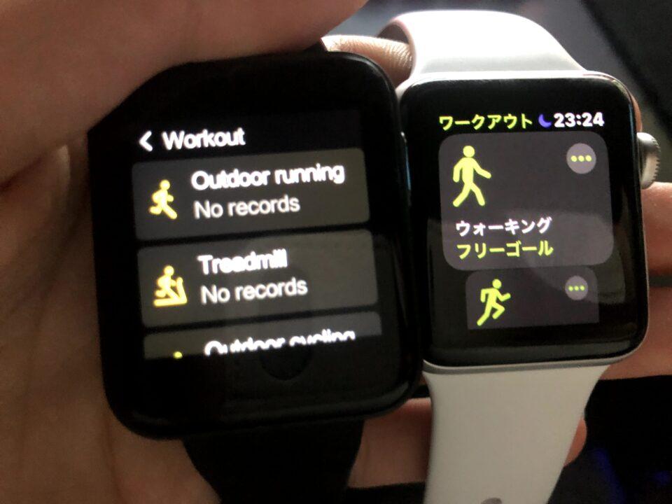 mi watch lite apple watch 2